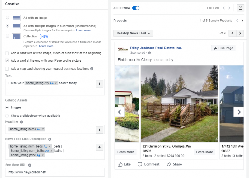 facebook field guild dynamic ads for real estate the modern day